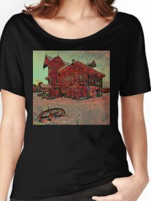 Crustle House Women's Relaxed Fit T-Shirt