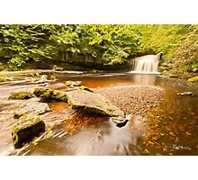 Clear Water at West Burton Photographic Print