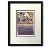 Melrose Framed Print