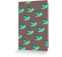 Cute Birds Greeting Card