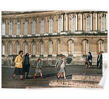 Visitors leaving Versailles 19570914 0036  Poster