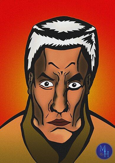 Portrait of a Comic Character by Matt Hagland