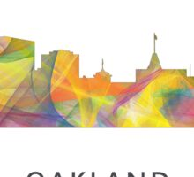 Oakland California Skyline WB1 Sticker