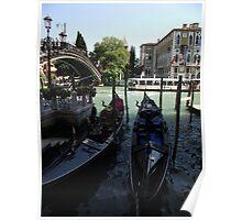 Two Gondolas Poster