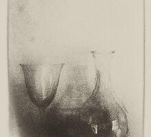 DECANTER  & GLASS by scarletjames