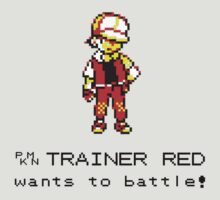 Pokemon Trainer Red  by AzPatchy