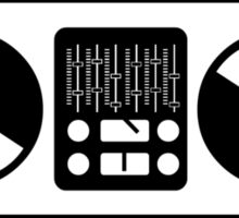 Turntables Sticker