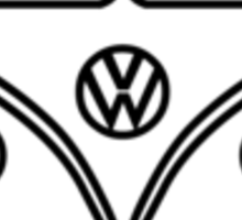 VW Wagon Front* Sticker