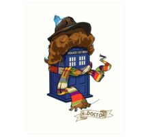 Time Lord 2 Art Print