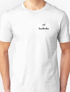 "Louis Tomlinson ""Not Heartbroken"" Design Unisex T-Shirt"