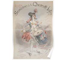 1917 Semaine de la Charente Infre Poster
