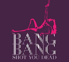 BANG BANG Shot You Dead Womens Fitted T-Shirt