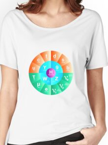 The Standard Model of Particle Physics Women's Relaxed Fit T-Shirt