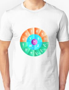 The Standard Model of Particle Physics Unisex T-Shirt