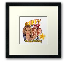 Btvs Once More With Feeling Framed Print