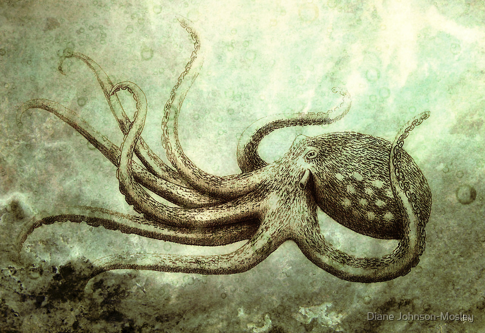 Octopus 2 by Diane Johnson-Mosley
