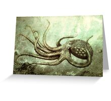 Octopus 2 Greeting Card