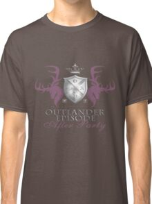 Outlander After Party Shield- Rose/Silver Classic T-Shirt