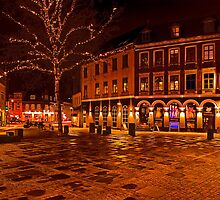 Old Town Square by Keld Bach