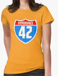 Hyperspace 42 Womens Fitted T-Shirt