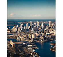 Aerial view of Sydney city, Australia Photographic Print