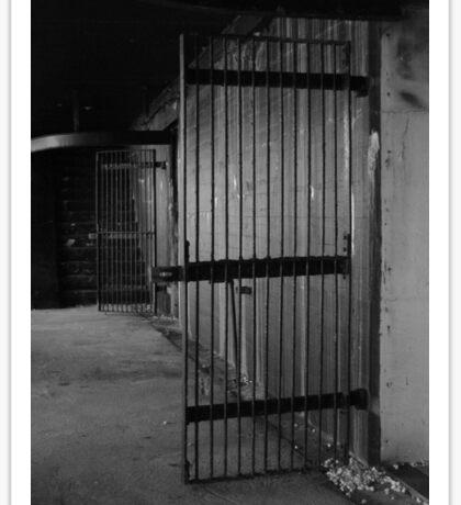 Gated Entrance Sticker