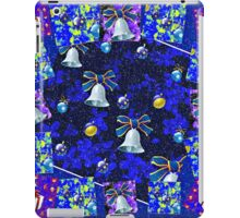 Christmas Cards Fantasia Collage with Snowflakes iPad Case/Skin