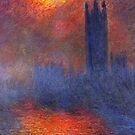 Parliament - Monet by IntWanderer