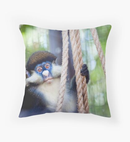 Chibi Glare Throw Pillow
