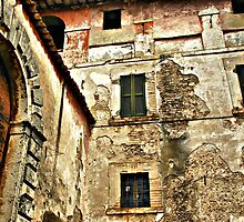 This Old Face-Cesi, Italy by Deborah Downes