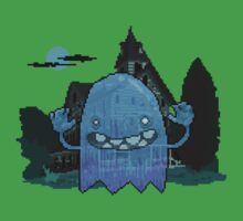 Pixel Ghost Kids Clothes