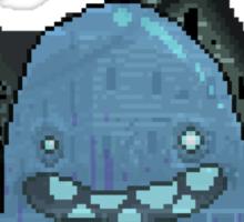 Pixel Ghost Sticker