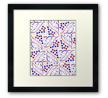 """Binomial Poisson Cumulative""© Framed Print"