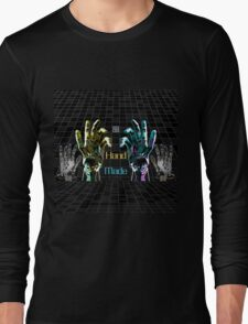 """""""Hand Made by AI""""© Long Sleeve T-Shirt"""