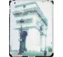 Arc de Triomphe, Paris, Vintage Feel iPad Case/Skin