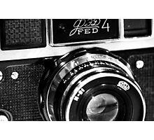 Fed-4B Rangefinder Photographic Print