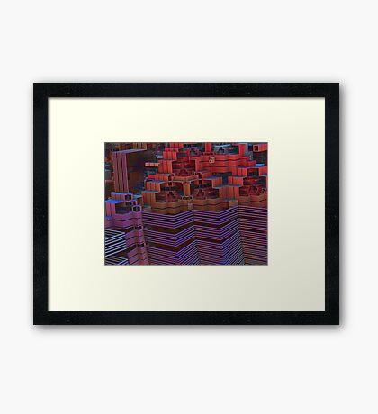 Storage Complex Framed Print