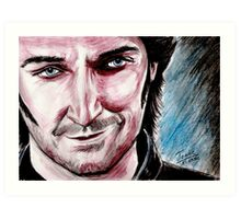 Richard Armitage, the good side of Guy Art Print