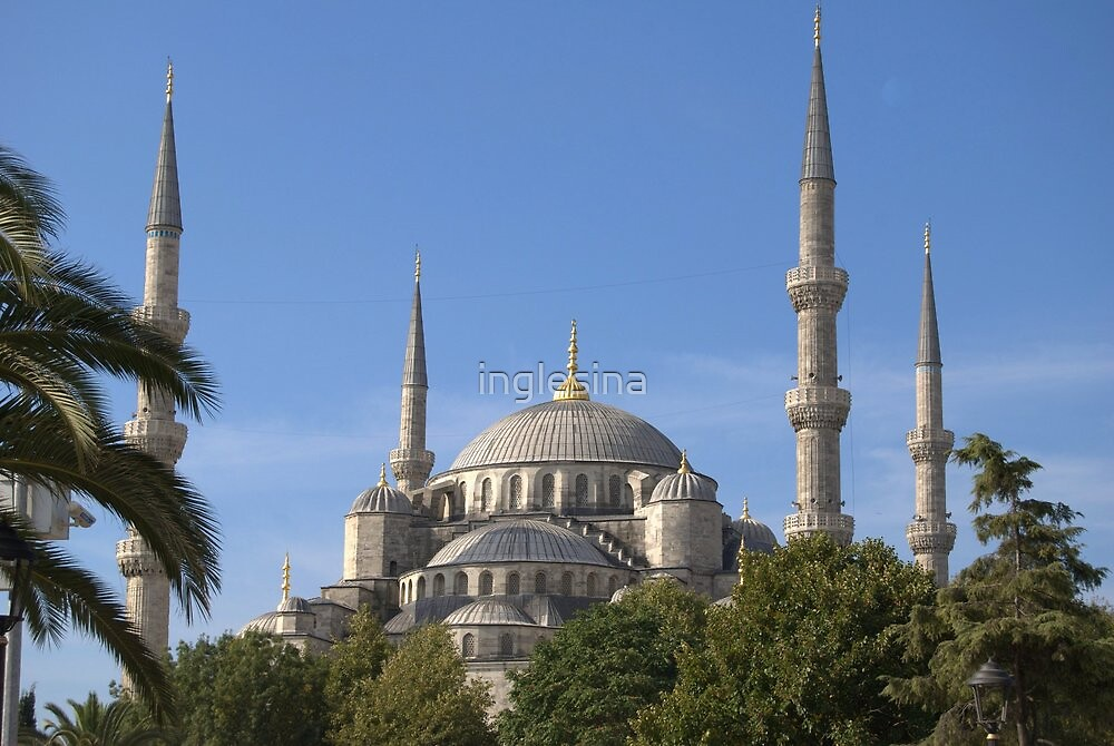 The Blue Mosque, Istanbul (External) by inglesina