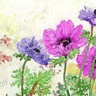 Spring Flowers ii - 2012 by Sue Flask