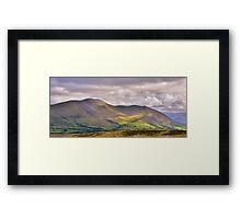 The Lake District: Skiddaw Framed Print