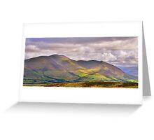The Lake District: Skiddaw Greeting Card