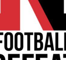 Northeastern Football Sticker