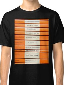 Book Spine Graphic Shirt Classic T-Shirt