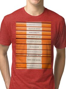 Book Spine Graphic Shirt Tri-blend T-Shirt