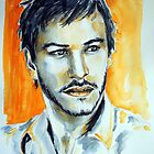 Gaspard Ulliel, featured in Pencil Group  by Françoise  Dugourd-Caput