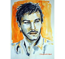 Gaspard Ulliel, featured in Pencil Group  Photographic Print