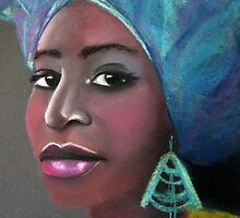 African beauty 3 by Elena Malec