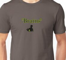 brains zombie funny halloween Unisex T-Shirt