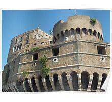 Rome- Castell St Angelo Poster